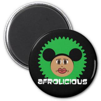 Riyah-Li Designs Afrolicious 2 Inch Round Magnet