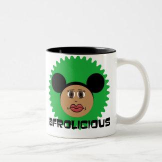 Riyah-Li Designs Afrolicious Two-Tone Coffee Mug
