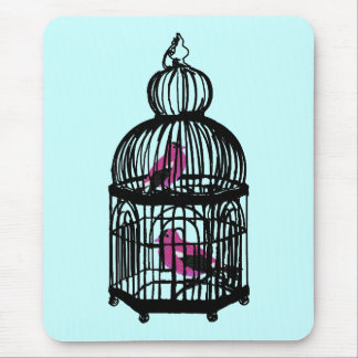 Riyah-Li Designs Caged Birds Mouse Pad