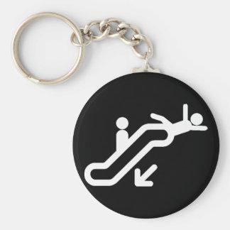 Riyah-Li Designs Escalator Warning Keychain