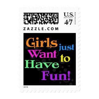 Riyah-Li Designs Girls Want Fun Stamp