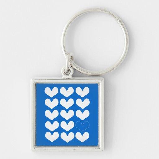 Riyah-Li Designs Hearts Keychain