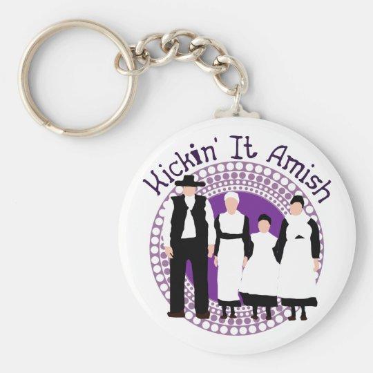 Riyah-Li Designs Kickin' It Amish Keychain