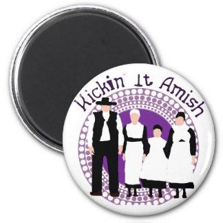 Riyah-Li Designs Kickin' It Amish Refrigerator Magnet
