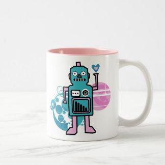 Riyah-Li Designs Robot Coffee Mugs