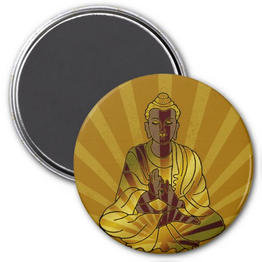 Riyah-Li Designs Vintage Buddha Magnet
