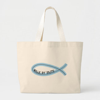 Riyah-Li Designs Walk By Faith Large Tote Bag