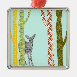 Riyah-Li Designs Woodland Forest Metal Ornament
