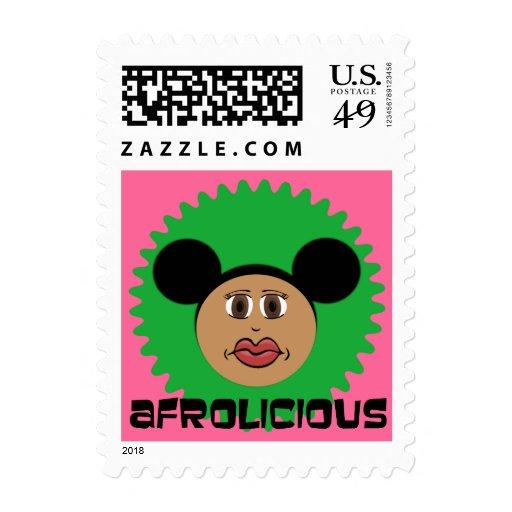Riyah-Li diseña Afrolicious Franqueo