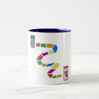 Riyah-Li diseña el PB a J Taza De Dos Tonos
