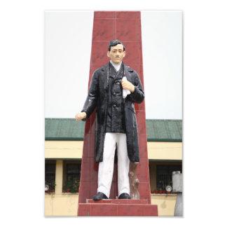 Rizal monument art photo