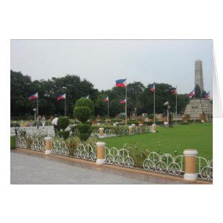 Rizal Park Greeting Card