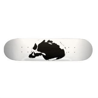 rIZE chimp skull Skateboard