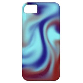 Rizo azul funda para iPhone 5 barely there