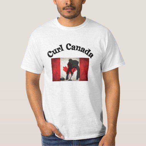 Rizo Canadá - el encresparse canadiense Playera