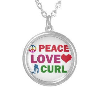 RIZO del amor de la paz Colgante Redondo