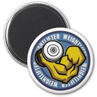 Rizo del Barbell del Weightlifter Imán Redondo 5 Cm