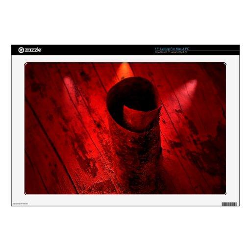 Rizo rojo del Driftwood 43,2cm Portátil Calcomanía