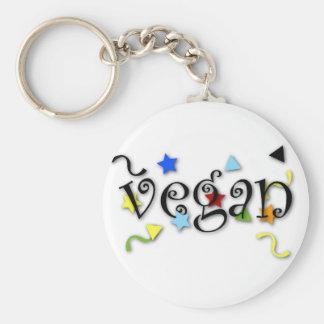 Rizos del vegano llaveros