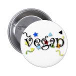 Rizos del vegano pin