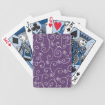 rizos florales baraja cartas de poker