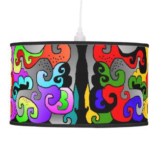 rizos lámpara de techo
