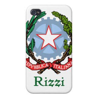 Rizzi - sello nacional italiano iPhone 4 funda