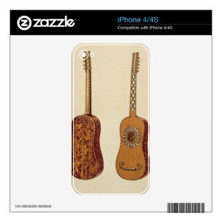 Rizzio Guitar, from 'Musical Instruments' (coloure Skins For The iPhone 4
