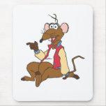 Rizzo la rata alfombrillas de ratón