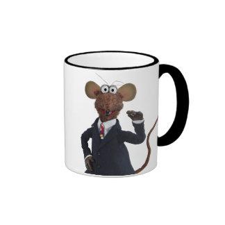 Rizzo la rata taza a dos colores