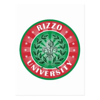 Rizzo University Italian Postcard