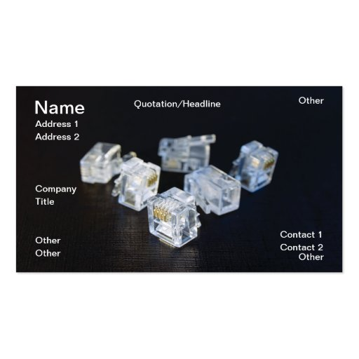 RJ45 BUSINESS CARDS