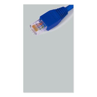 rj45 - computer network connector Double-Sided standard business cards (Pack of 100)