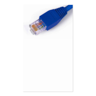 rj45 - computer network connector business card