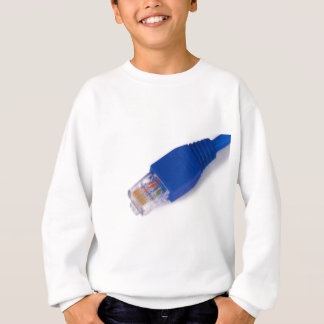 rj45 - computer network connector sweatshirt