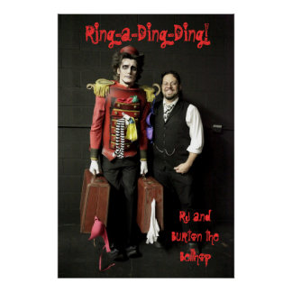 Rj and Burton the Bellhop Poster