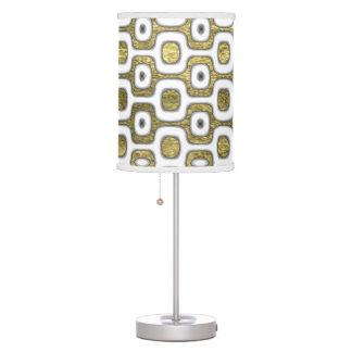 RJ Ipanema golden pattern sidewalk Table Lamp