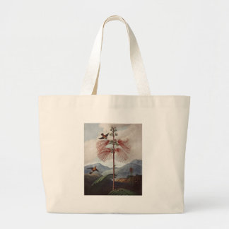 RJ Thornton - Flowering Sensitive Plant Jumbo Tote Bag
