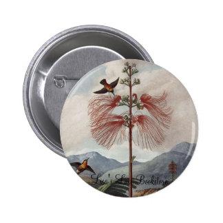 RJ Thornton - Flowering Sensitive Plant Pinback Buttons