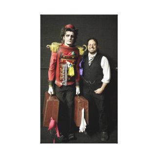 RJ with the Burton the Bellhop Canvas Print