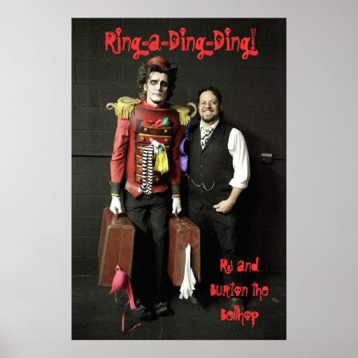 Rj y Burton el poster del Bellhop