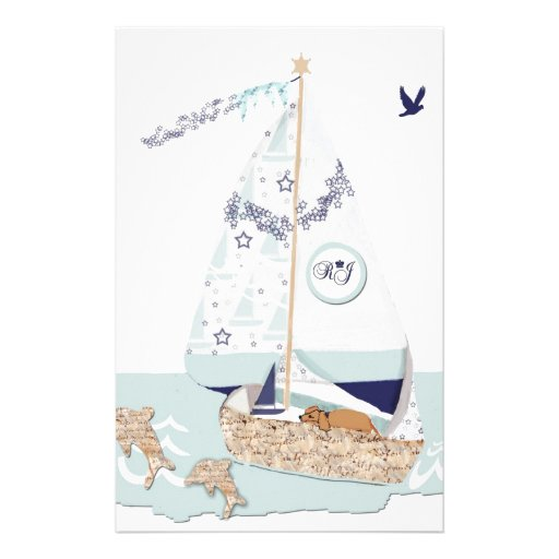 RJ's Sailboat and puppy.jpg Customized Stationery