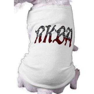 RKBA enderezan para guardar y para llevar los Playera Sin Mangas Para Perro