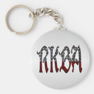 RKBA Right to Keep and Bear Arms Keychain