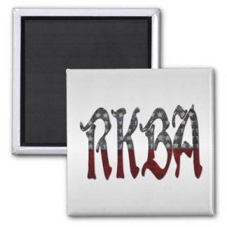 RKBA Right to Keep and Bear Arms 2 Inch Square Magnet