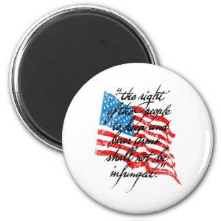 RKBA Shall Not Be Infringed 2 Inch Round Magnet