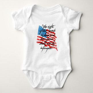 RKBA Shall Not Be Infringed Baby Bodysuit