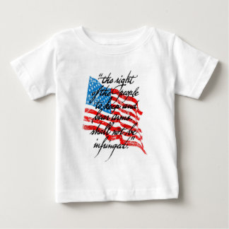 RKBA Shall Not Be Infringed Baby T-Shirt