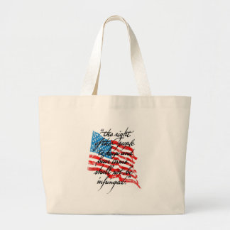 RKBA Shall Not Be Infringed Canvas Bag