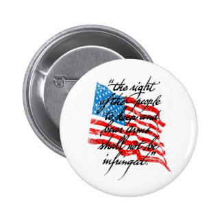 RKBA Shall Not Be Infringed Button